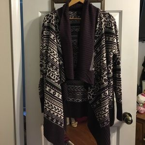 Romeo and Juliet Couture Open Knotted Cardigan
