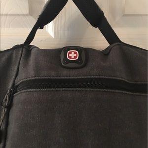 Swiss Gear Bags - Swiss Gear Gray Black Laptop Bag
