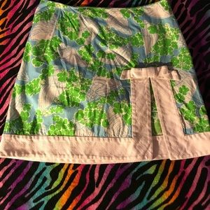 Lilly Pulitzer skirt 💐🌺
