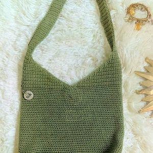 The Sak Handbags - ❤ The Sak Gorgeous Green Crocheted Shoulder Bag!!!