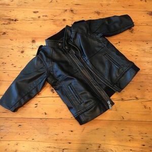 """Kenneth Cole Reaction Other - Kenneth Cole Reaction Baby """"Leather"""" Jacket"""