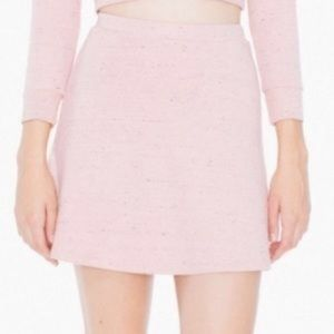 American Apparel Pink Skirt