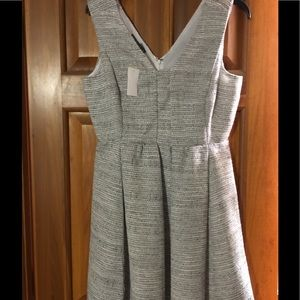 NWT super cute Lined Dress tweed look