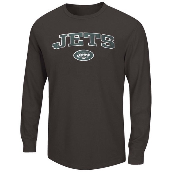 reputable site da92e ba501 New York Jets Men's Big & Tall Thermal Long Sleeve Boutique