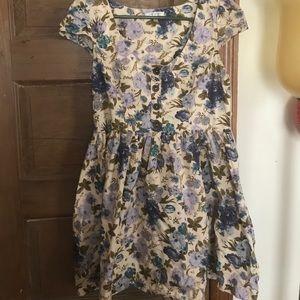 """just ginger Dresses & Skirts - Size Medium """"Just Ginger"""" Floral Dress"""