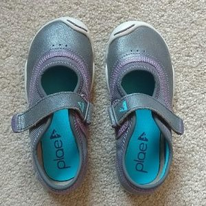 PLAE Other - Brand new Plae Mary Jane 10 Emme Gray Purple Shoes