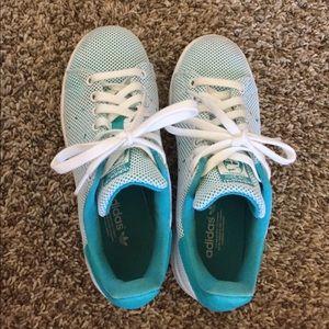 Adidas primeknit Stan Smith shoes
