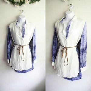 Tops - New La Reyna Tie-Dyed Tunic