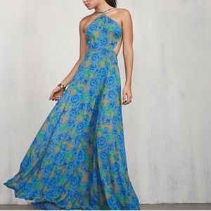 Reformation Dresses & Skirts - Reformation green and blue floral maxi dress