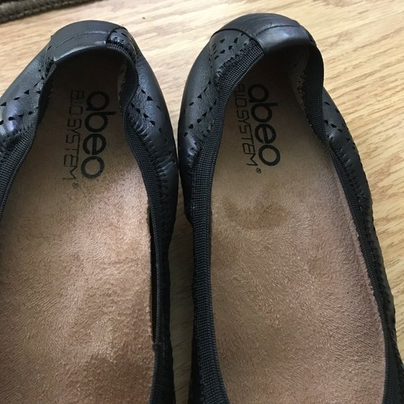 41 Off Abeo Shoes Abeo B I O System Black Leather