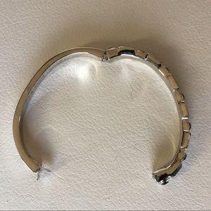 Givenchy Jewelry - Givenchy oval bangle bracelet &Swarovski crystals