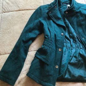 New York & Company Jackets & Blazers - New York &a Company Forest Green Jacket