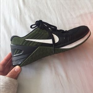 08f7c57a0f59c Nike Shoes - Nike Metcon 3 DSX Flyknit in Black Rough Green