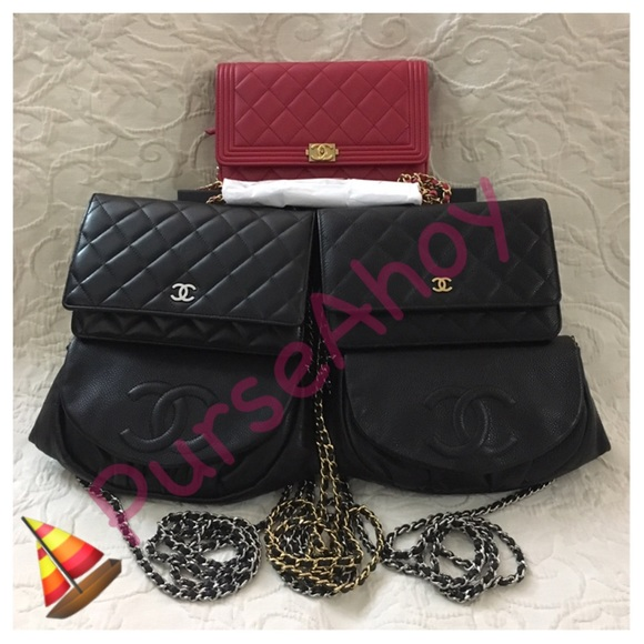 51acf18a77a6 Chanel WOC Wallet On Chain Caviar   Lambskin