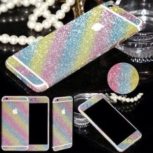 Accessories - 360 Degree Shiny Full Body Glitter for iPhone