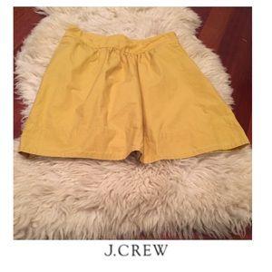 J. Crew Dresses & Skirts - J. Crew Yellow Skirt