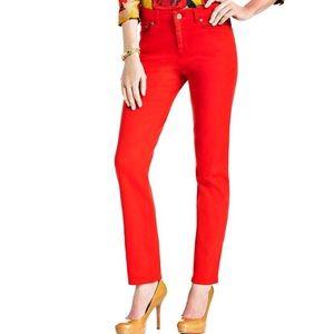 Anne Klein Denim - 🌷🆕Anne Klein Women's Red Skinny Jeans🌷