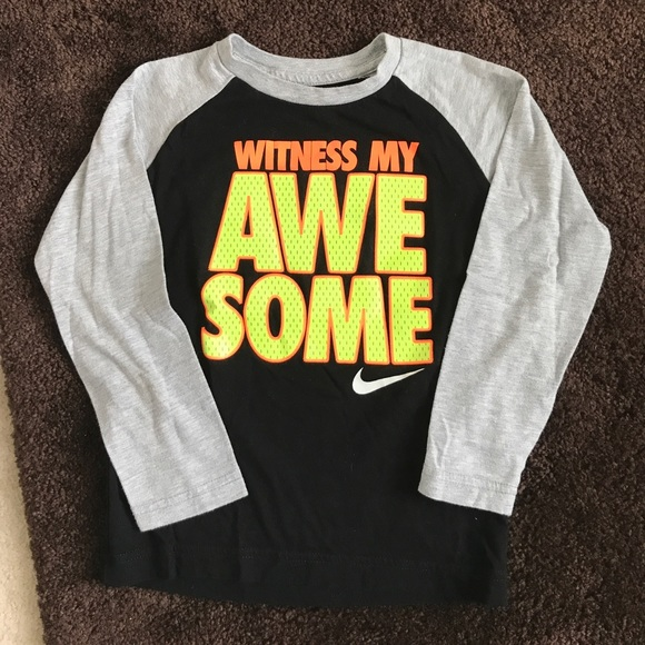 da24ee61 Nike Shirts & Tops | Boys Long Sleeved Shirt Size 6 | Poshmark