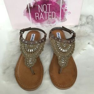 Not Rated Shoes - Crochet Sandals✨NWB