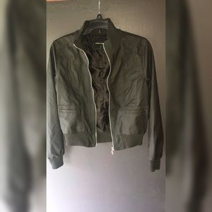 Poetry Clothing Jackets & Blazers - Faux Leather Jacket