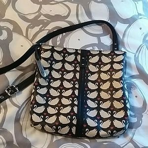 CUTE Relic (Fossil) cross body leather bag