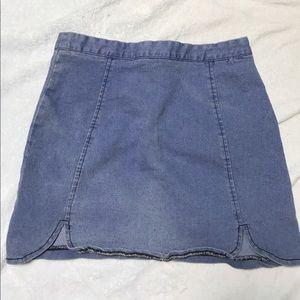 Brandy Melville Dresses & Skirts - Brandy Melville Ringer Tee and Denim Raquel