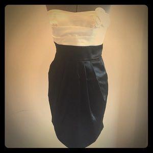 Teeze Me Dresses & Skirts - Teeze Me stretch satin strapless dress - sz 13