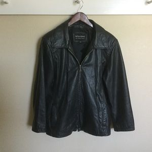 Wilsons Leather Other - Wilsons Black Leather Jacket
