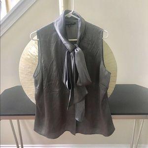 Tops - Silk tie tank top
