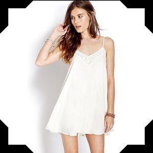 Forever 21 lace slip dress