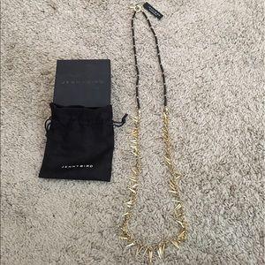 """Jenny Bird Jewelry - NWT Jenny Bird StitchFix """"Maddie"""" Rope Necklace"""