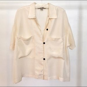 New York Studio Tops - Silk Studio Blouse