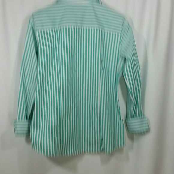 72 off foxcroft tops foxcroft wrinkle free button down for Wrinkle free button down shirts