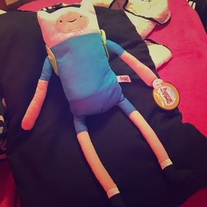 "Adventure Time Other - Adventure time with Finn and Jake 17"" Finn plush"