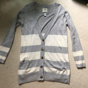 Aerie Striped Cardigan