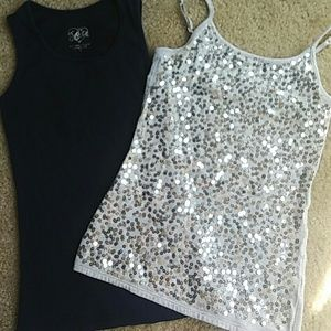 Justice Other - 2 Tanks Size 8