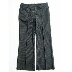 Bebe  Pinstripe Creased Career Trouser NWT 10P