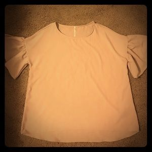 NWOT bell sleeve blouse top