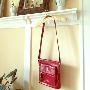 Giani Bernini Handbags - Giani Bernini Red Leather Bag/ Purse