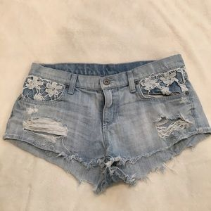 Carmar Pants - CARMAR jean shorts from LF