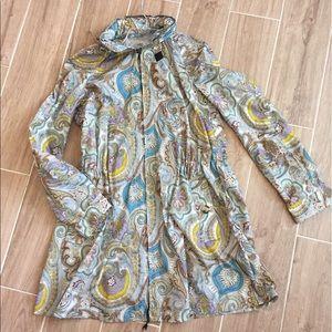 Etro Jackets & Blazers - Etro Paisley Rain Jacket With Hood