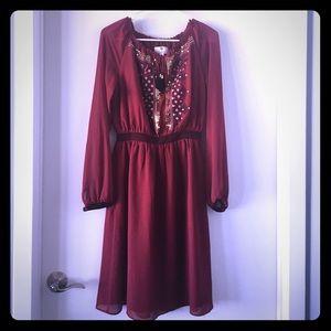 Altuzarra for Target red dress size 4