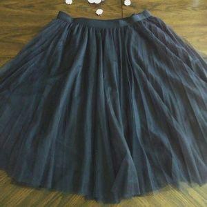 Dresses & Skirts - 2X Black Tulle Skirt