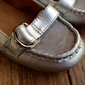 GAP Other - Gap kids silver loafers