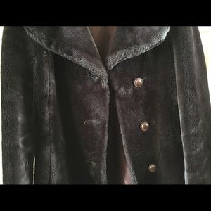 Jackets & Blazers - Retro faux fur coat in good condition.