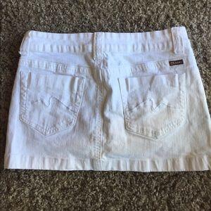 Makers of True Originals Dresses & Skirts - White jean skirt