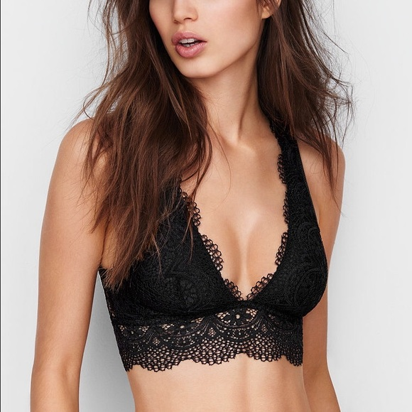 6bc7392b87 💢SALE💢 Victoria s Secret Deep V Crop Bralette