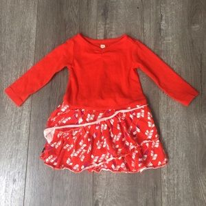 Tea Collection Other - Tea collection red dress 3-6 months