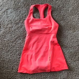Lululemon workout top (neon orange)
