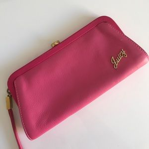 Juicy Couture Handbags - Pink and Gold Clutch
